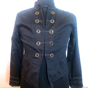 Stylish Button Detail Lightweight Jacket/Blazer